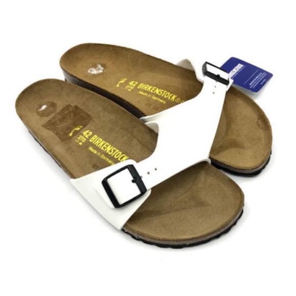 681bc5f2e48 Birkenstock Sandals Womens US 12 White NWT